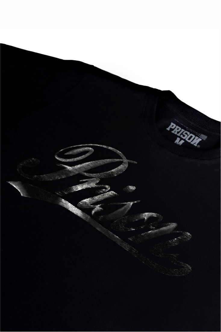 Camiseta Prison Global Black Logo