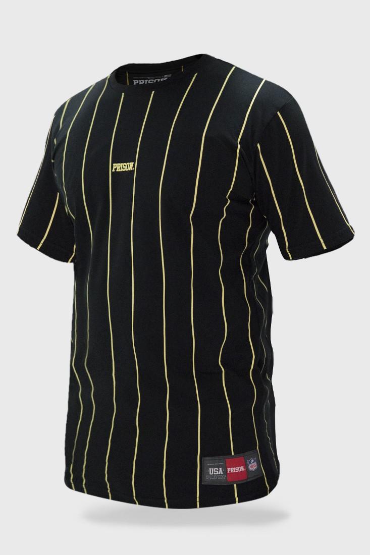 Camiseta Listrada Vertical Striped Prison