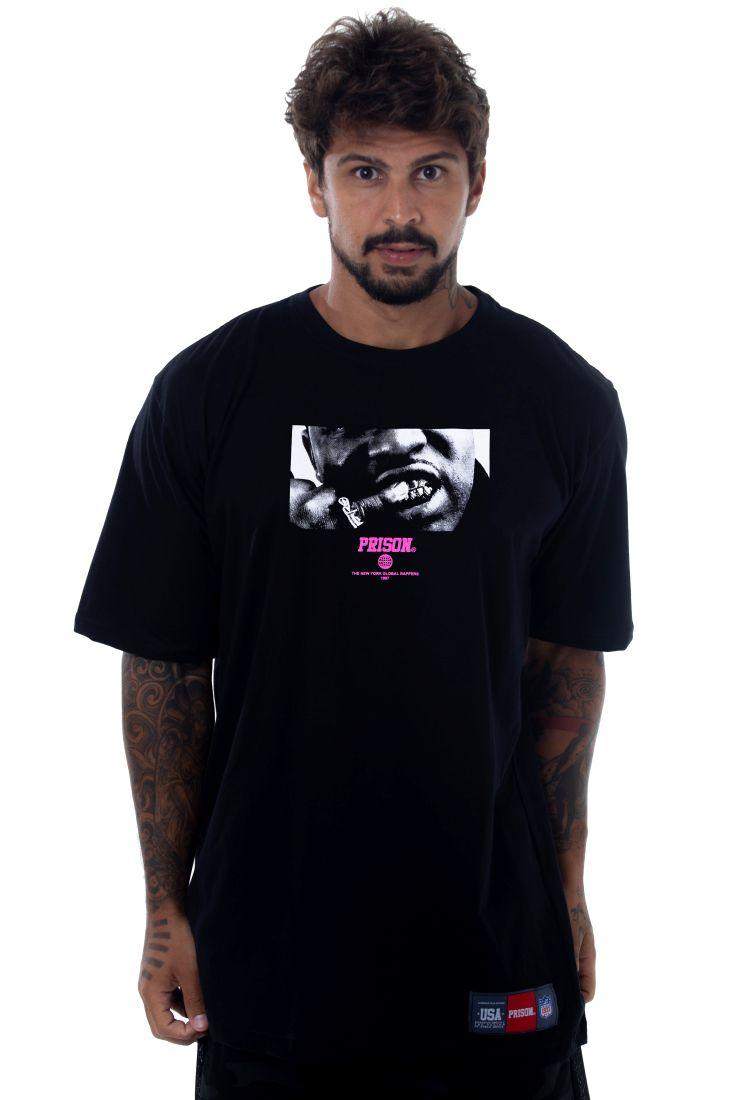 Camiseta Prison Asap Ferg Preta