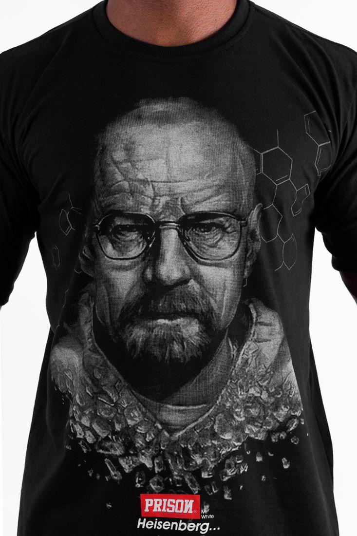 Camiseta Prison heisenberg Preta