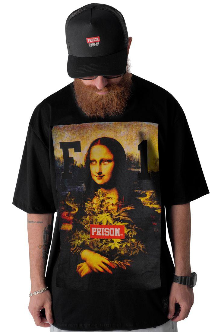 Camiseta Prison F1 Preta