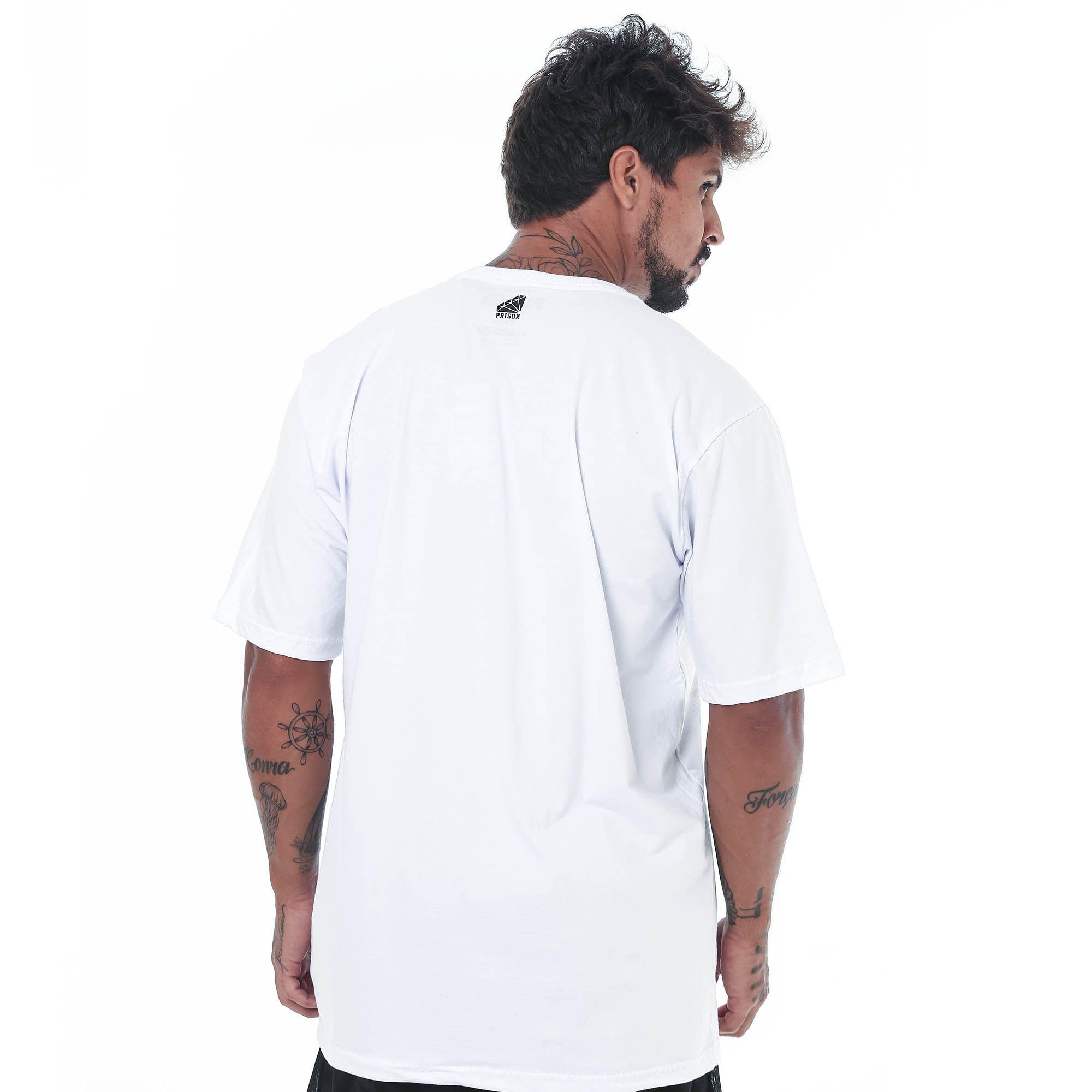 Camiseta Prison Japan Discreet Branca