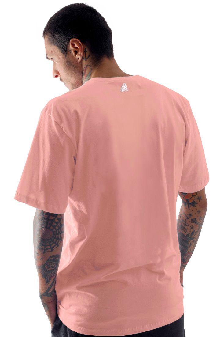 Camiseta Prison Japan Discreet Salmão