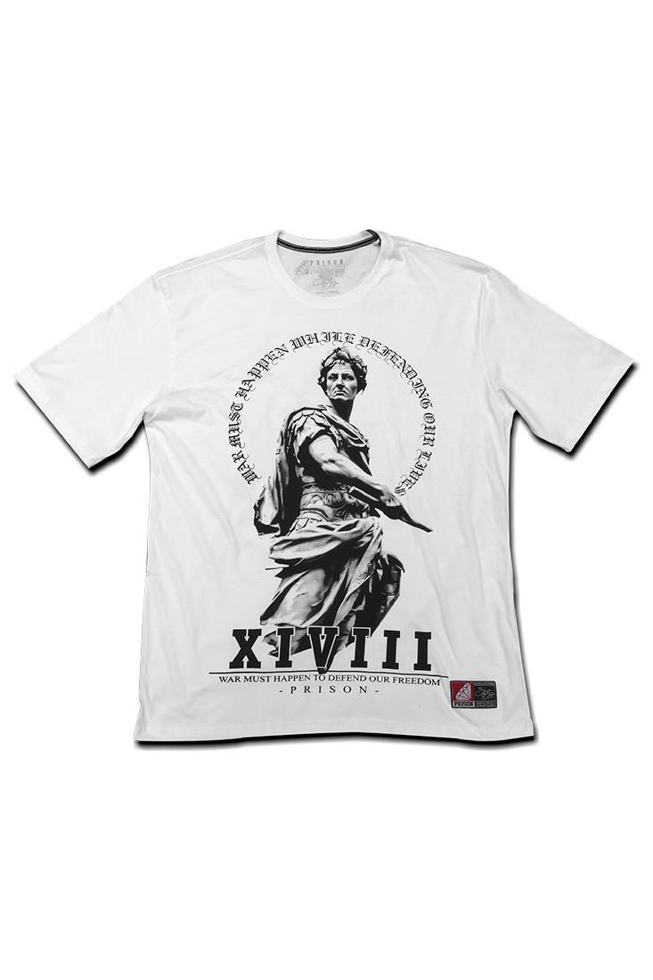 Camiseta Swag  Romano Prison Branca