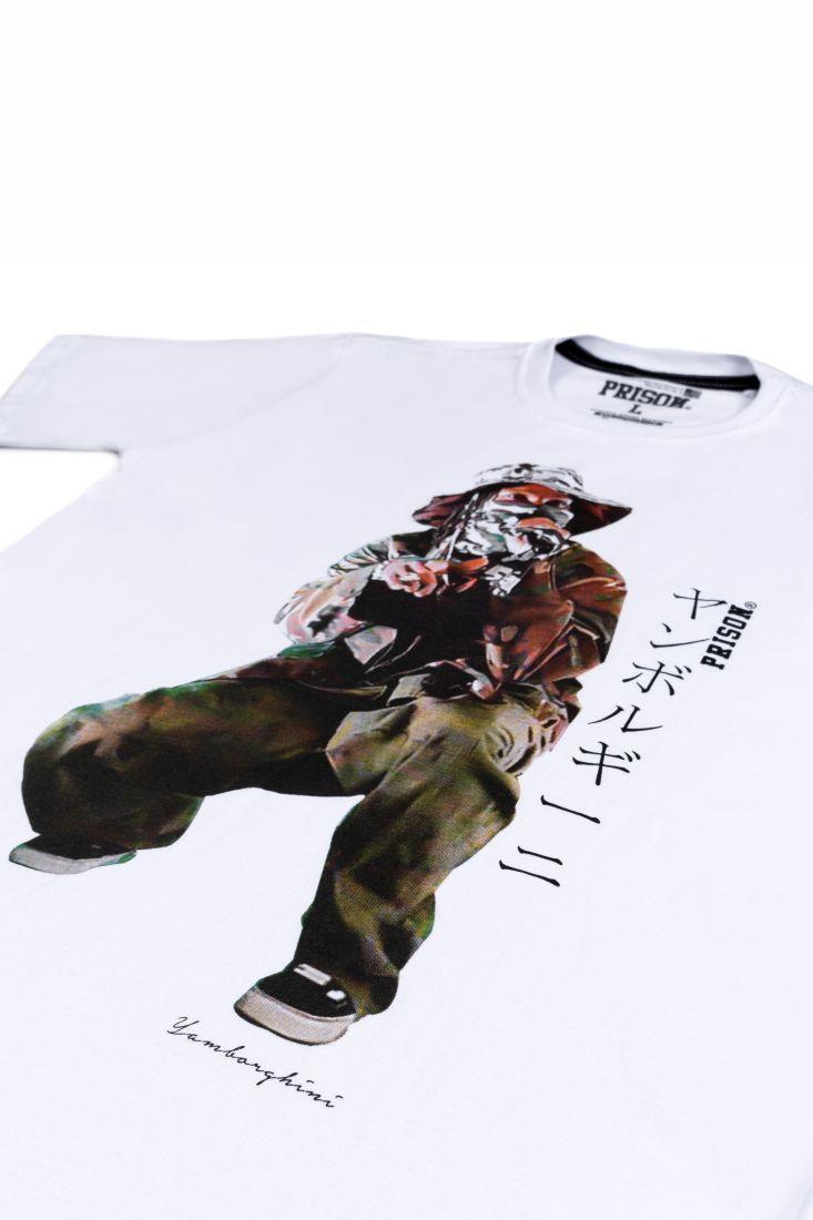Camiseta Prison Asap Rocky Live Branca