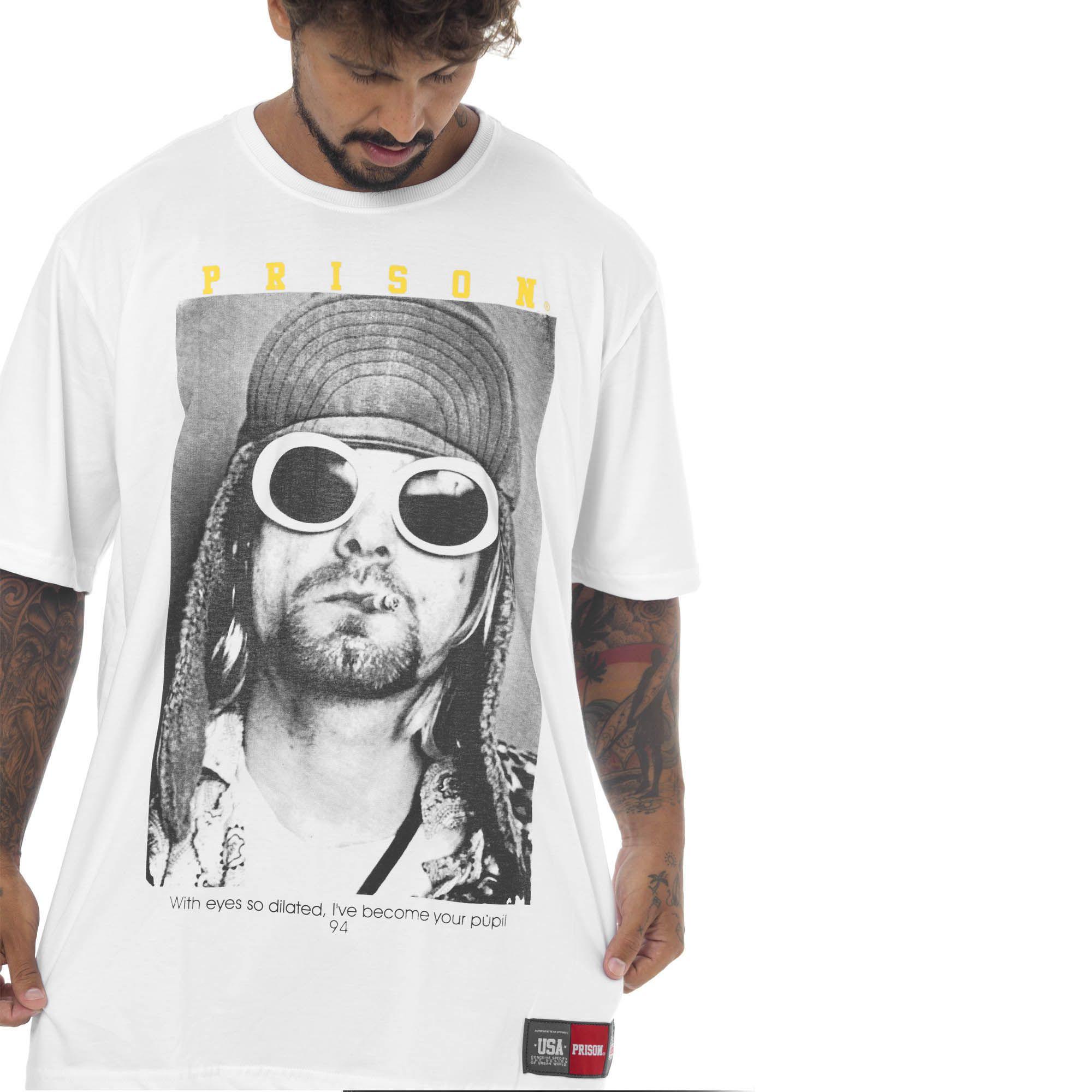 Camiseta Prison Kurt Branca
