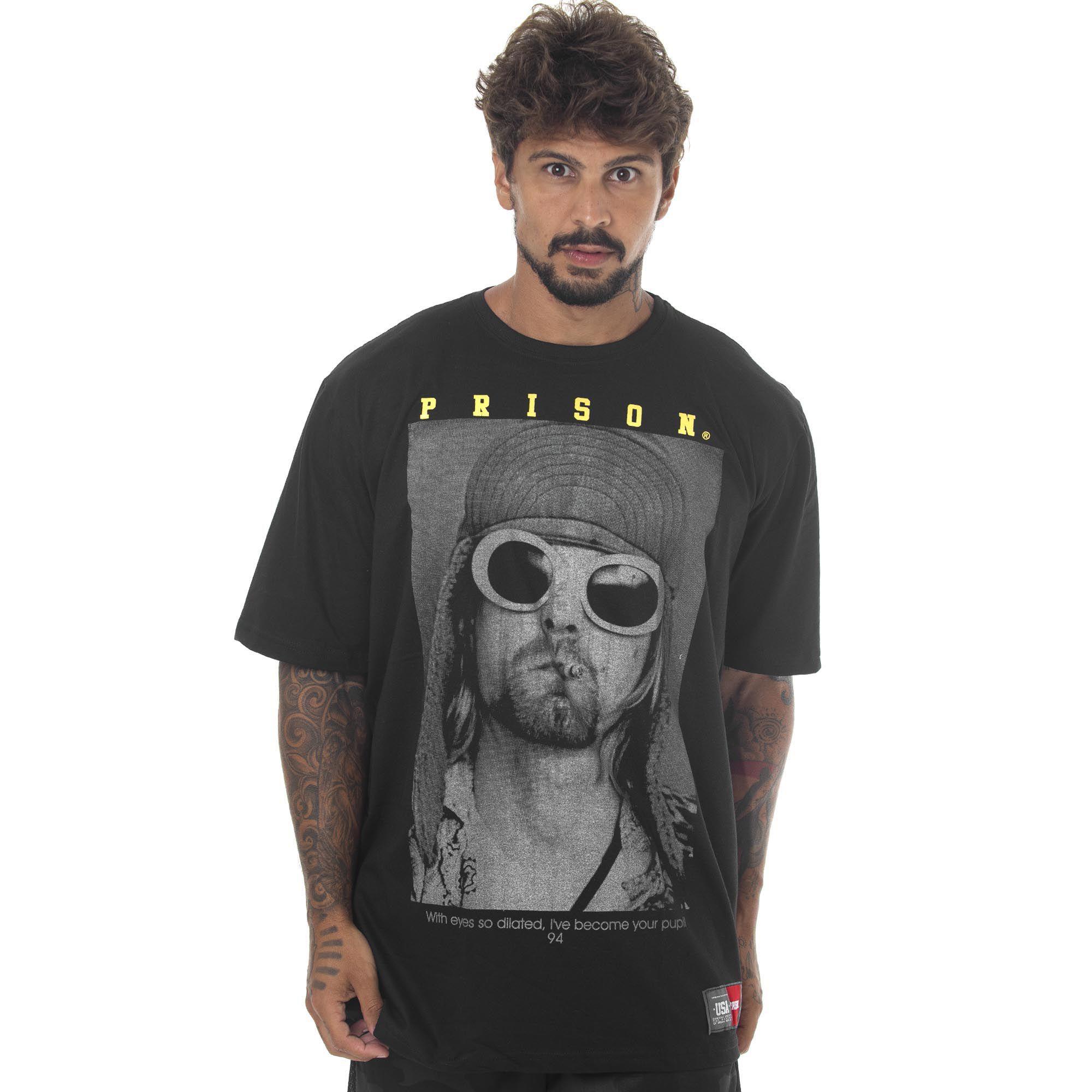 Camiseta Prison Kurt Preta