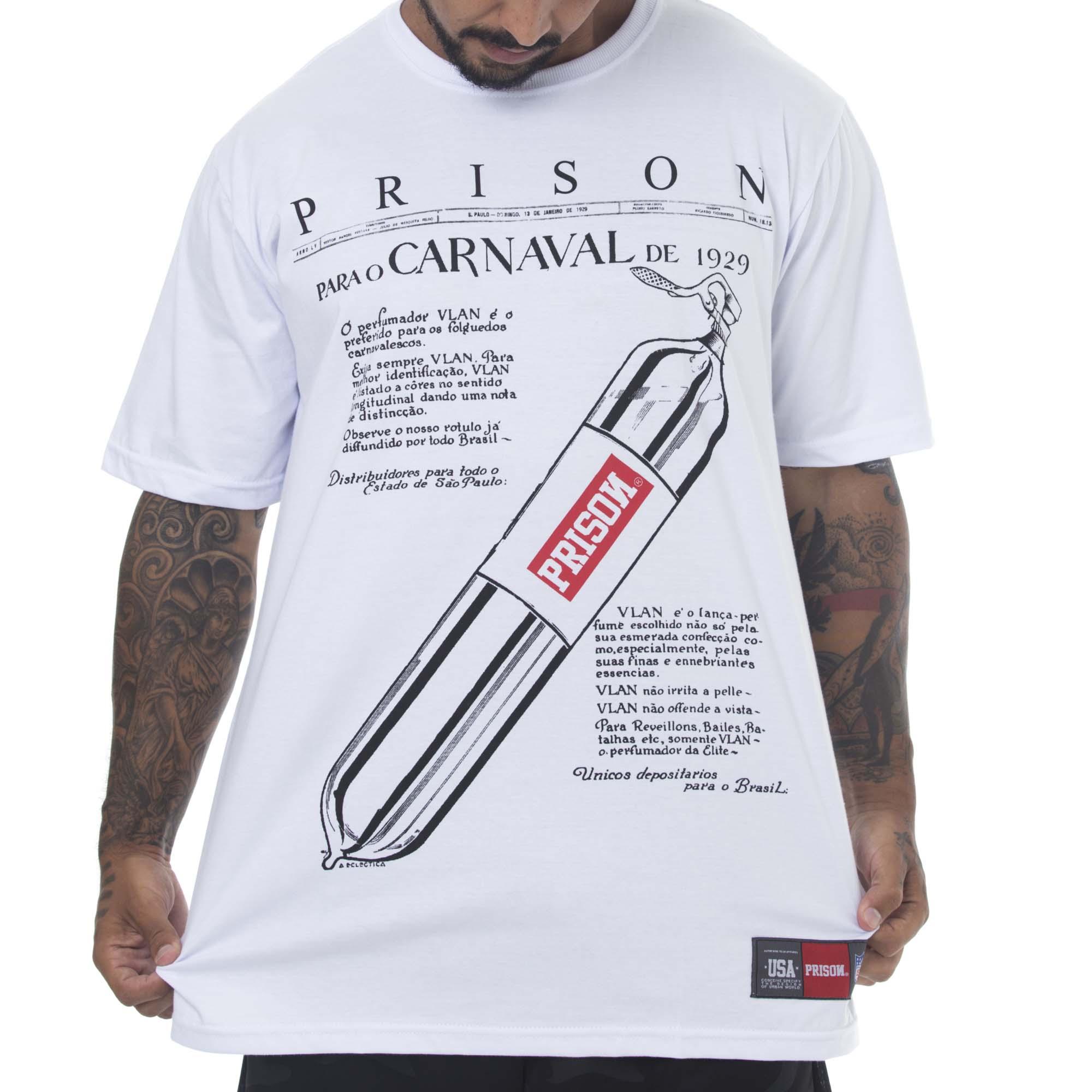 Camiseta Prison Lance Parfum Branca