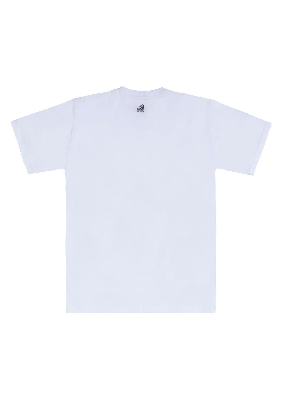 Camiseta Prison Line Edition Branca
