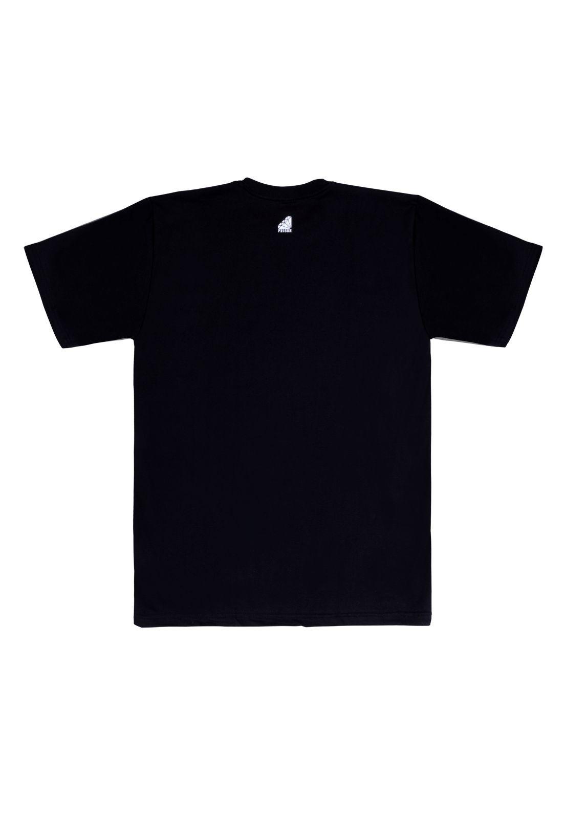 Camiseta Prison Line Edition Preta