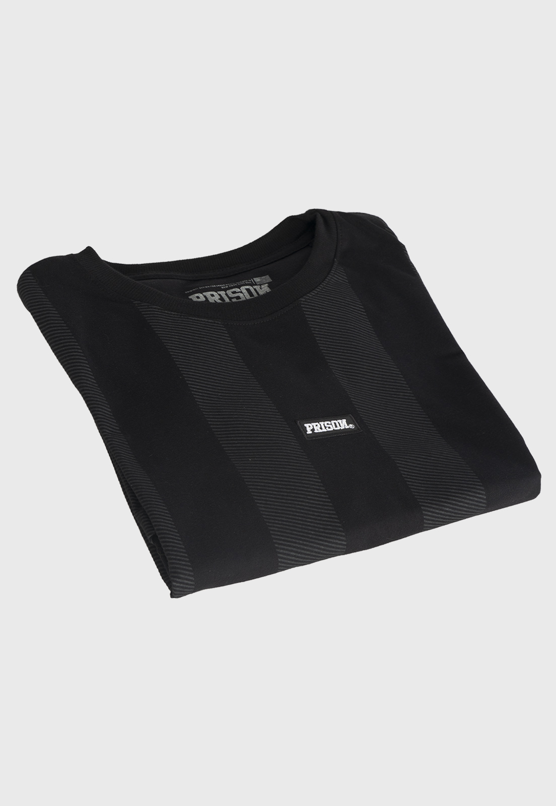 Camiseta Prison Listrada Long Black