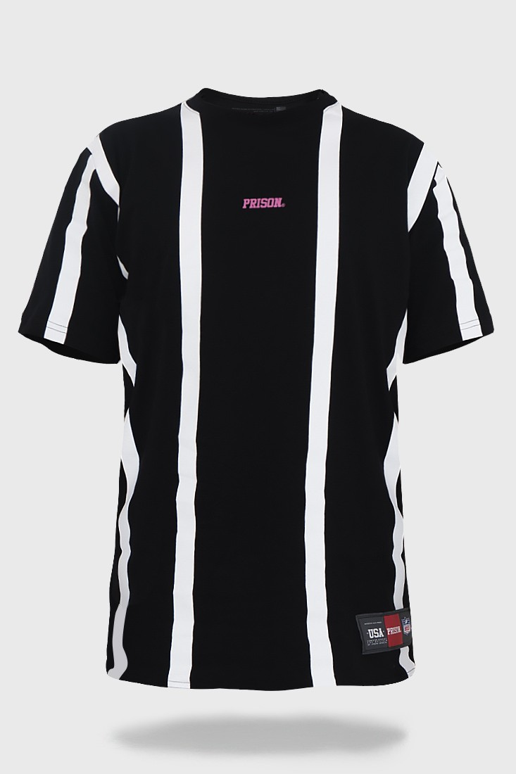 Camiseta Prison Listrada Simple Stripe