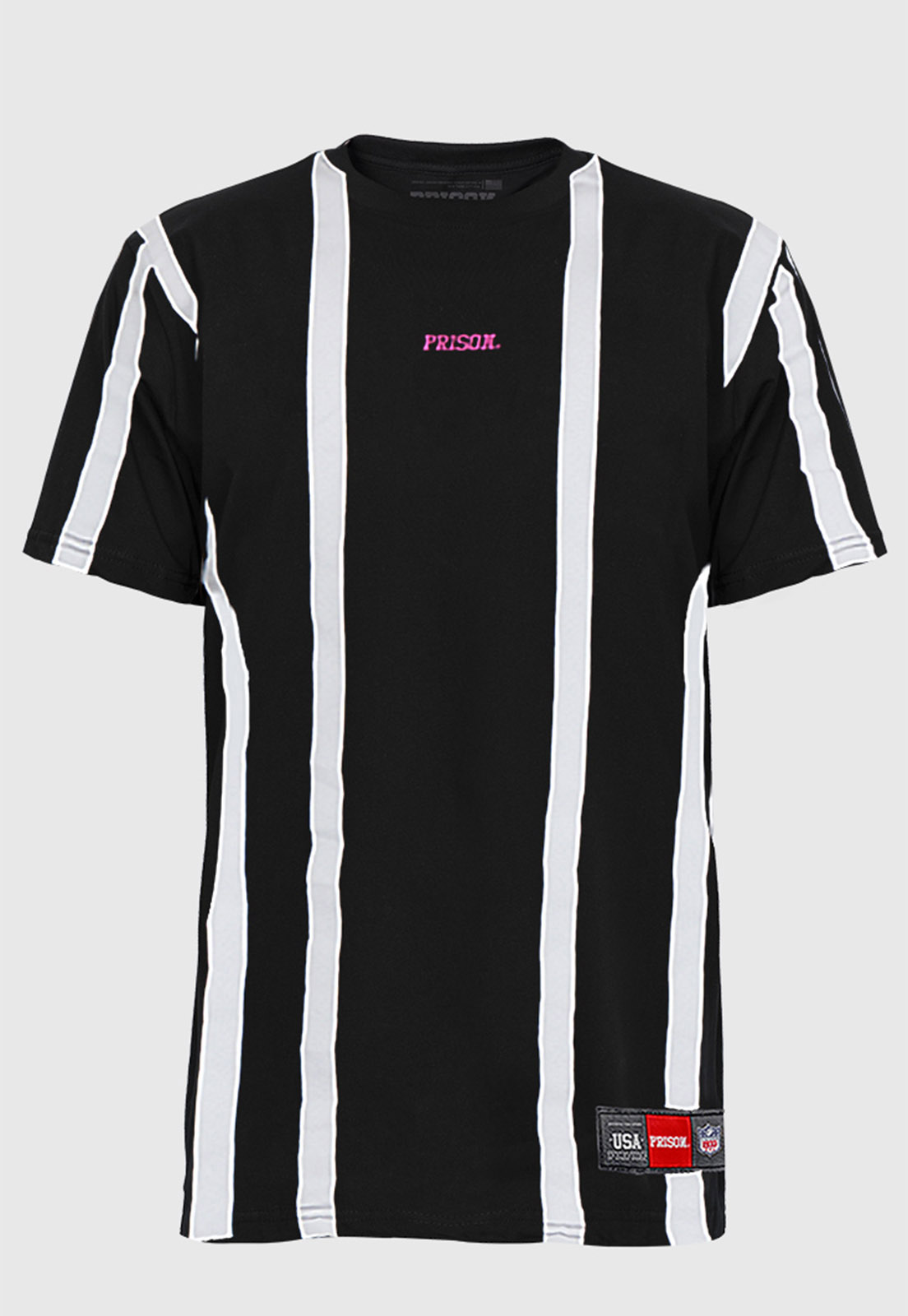 Camiseta Prison Listrada Simple Stripe