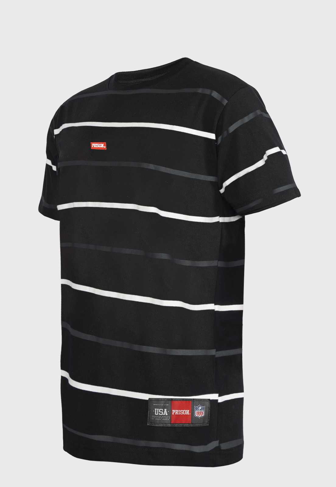 Camiseta Prison Listrada Street  Black