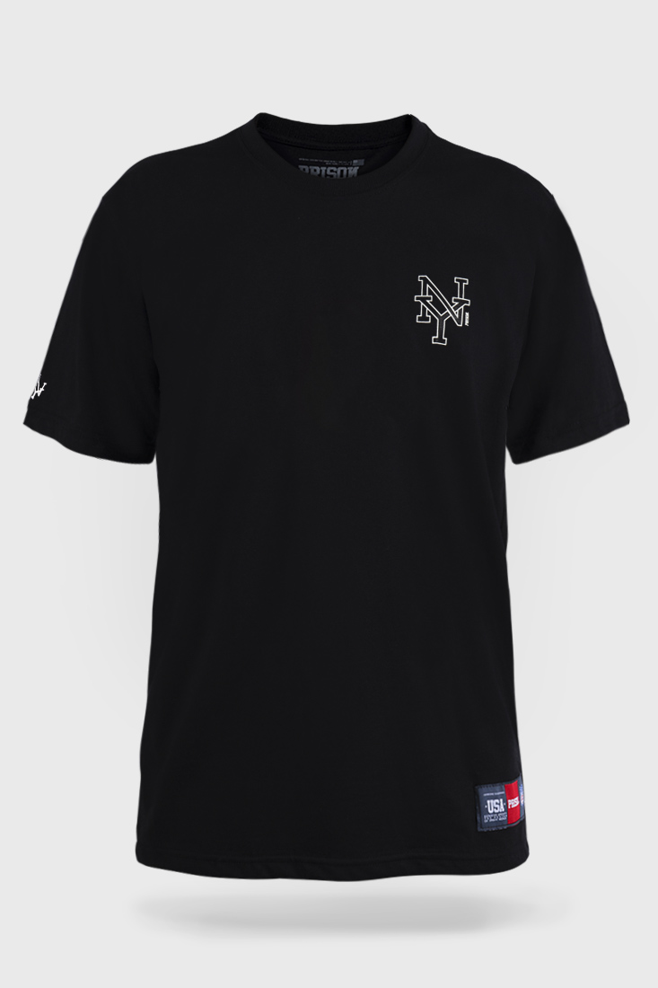 Camiseta Prison Logo NY - Preto