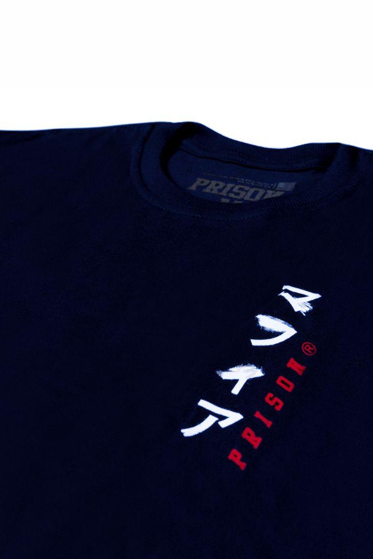 Camiseta Prison Long Line Japan Azul