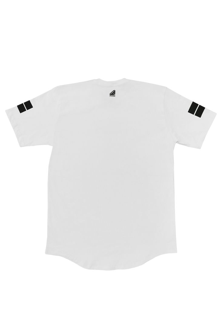 Camiseta Prison Longline Box Branca