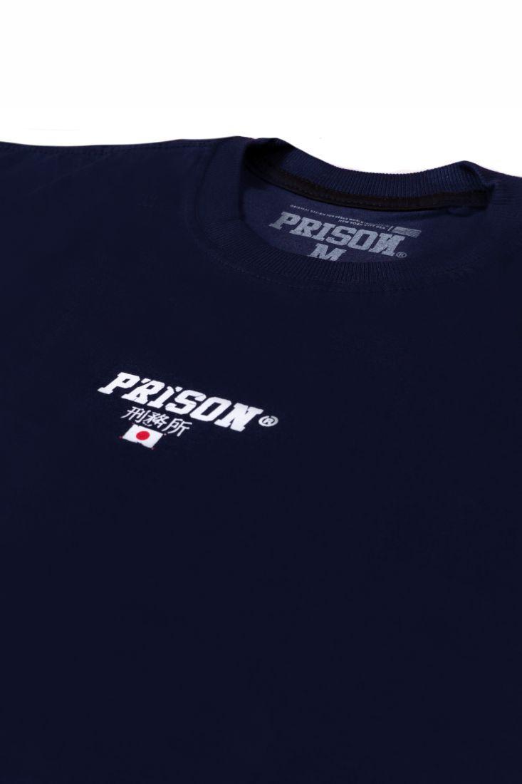 Camiseta Prison Longline Nihon 96 Azul