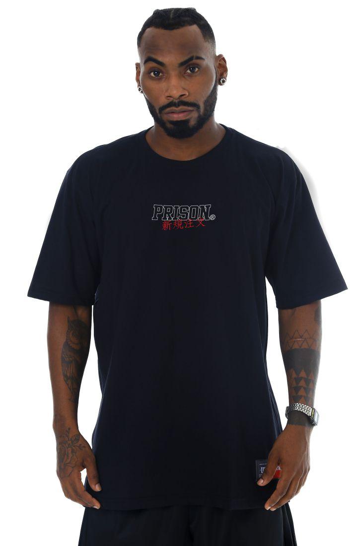 Camiseta Prison Low Japan Preta
