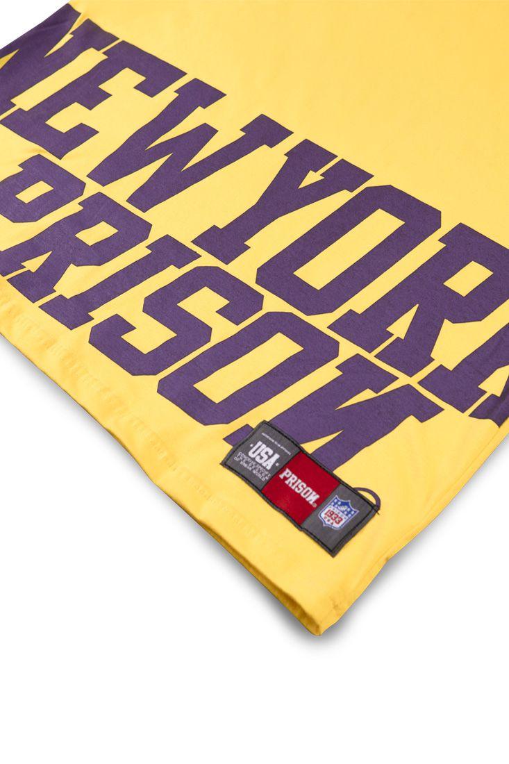 Camiseta Prison Low New York Amarelo
