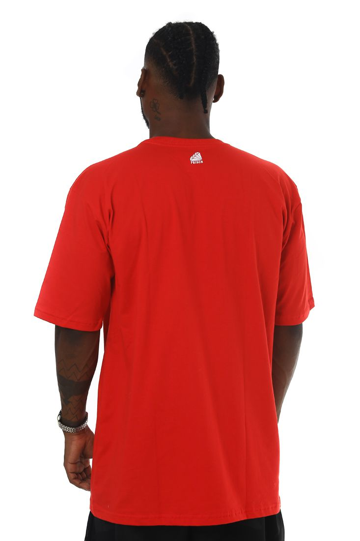 Camiseta Prison Low New York Vermelha