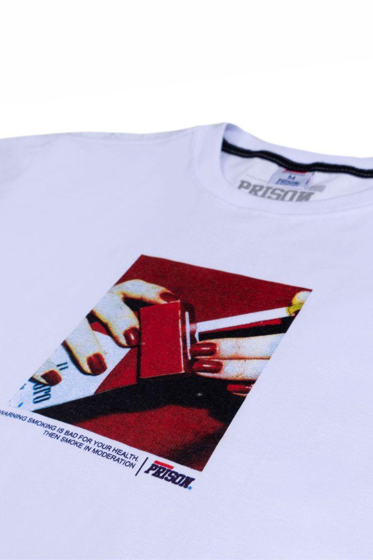 Camiseta Prison Marlboro Branca