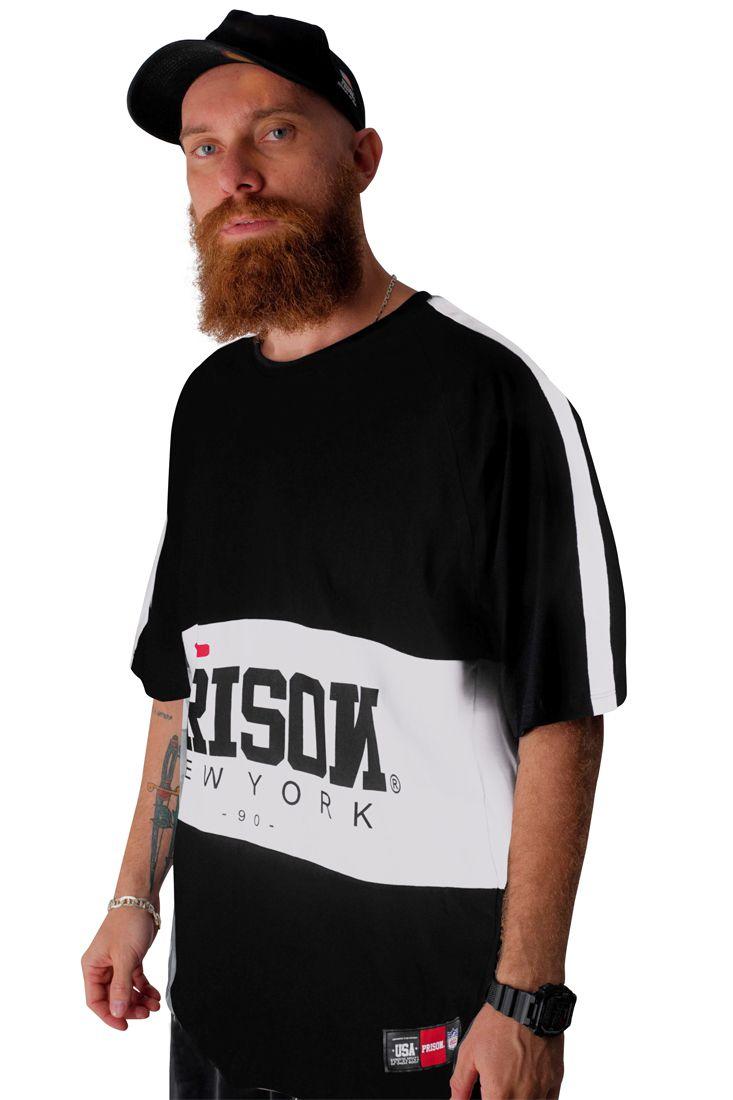 Camiseta Prison Middle Street Preta
