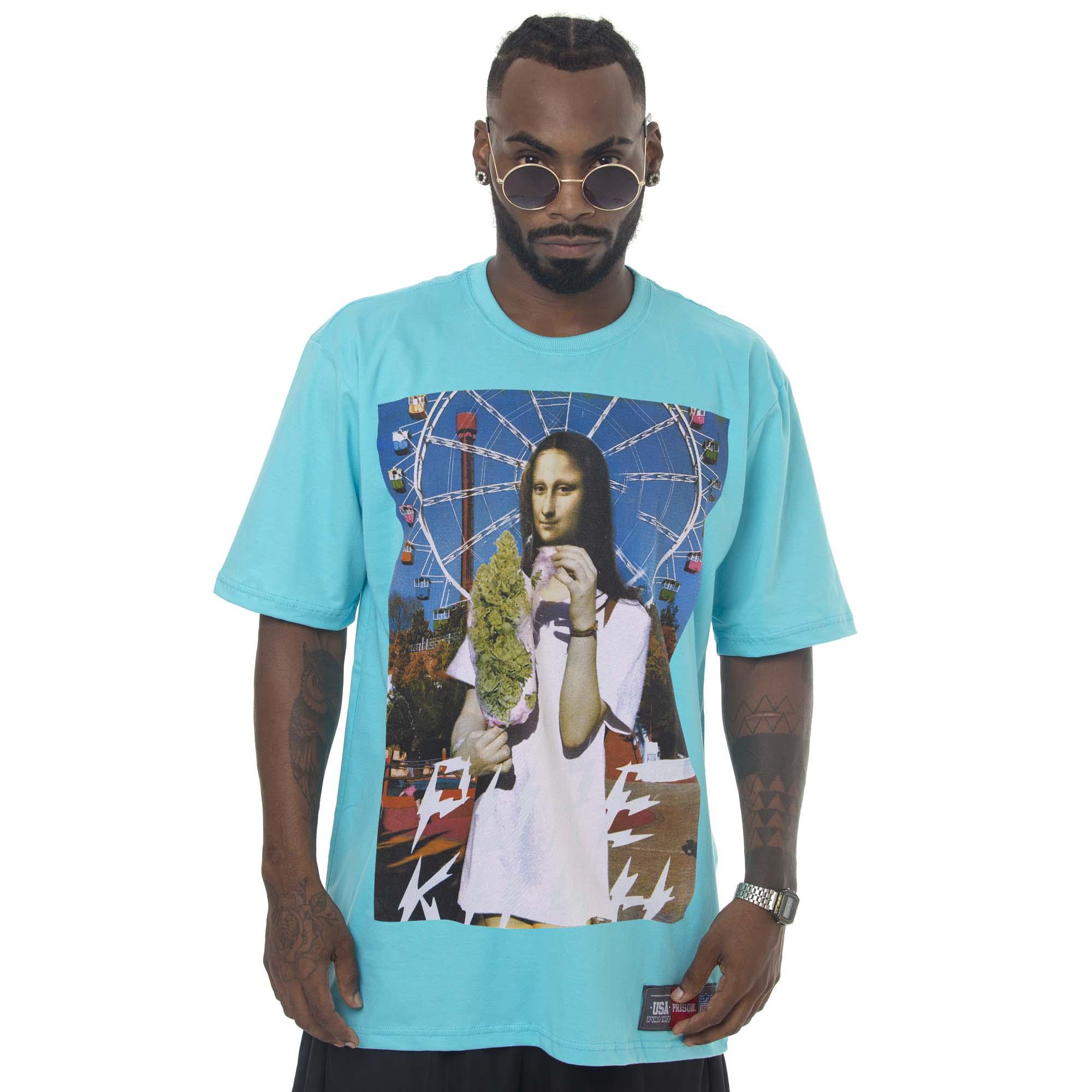 Camiseta Prison Monaliza Code Azul