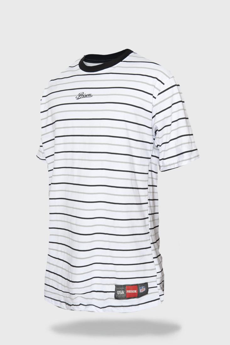 Camiseta Prison Monocromatic Stripes