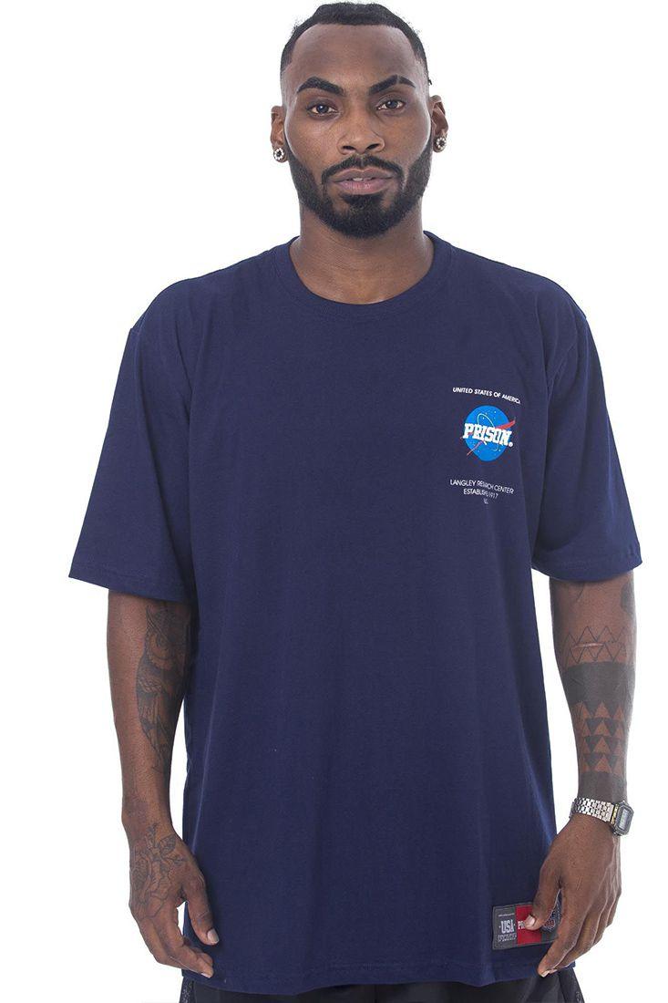 Camiseta Prison Nasa Azul