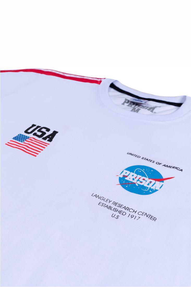Camiseta Prison NASA Branca