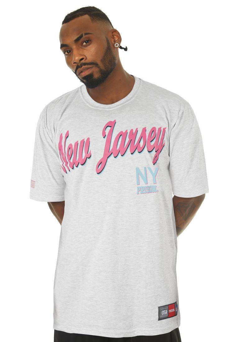 Camiseta Prison New Jarsey Mescla