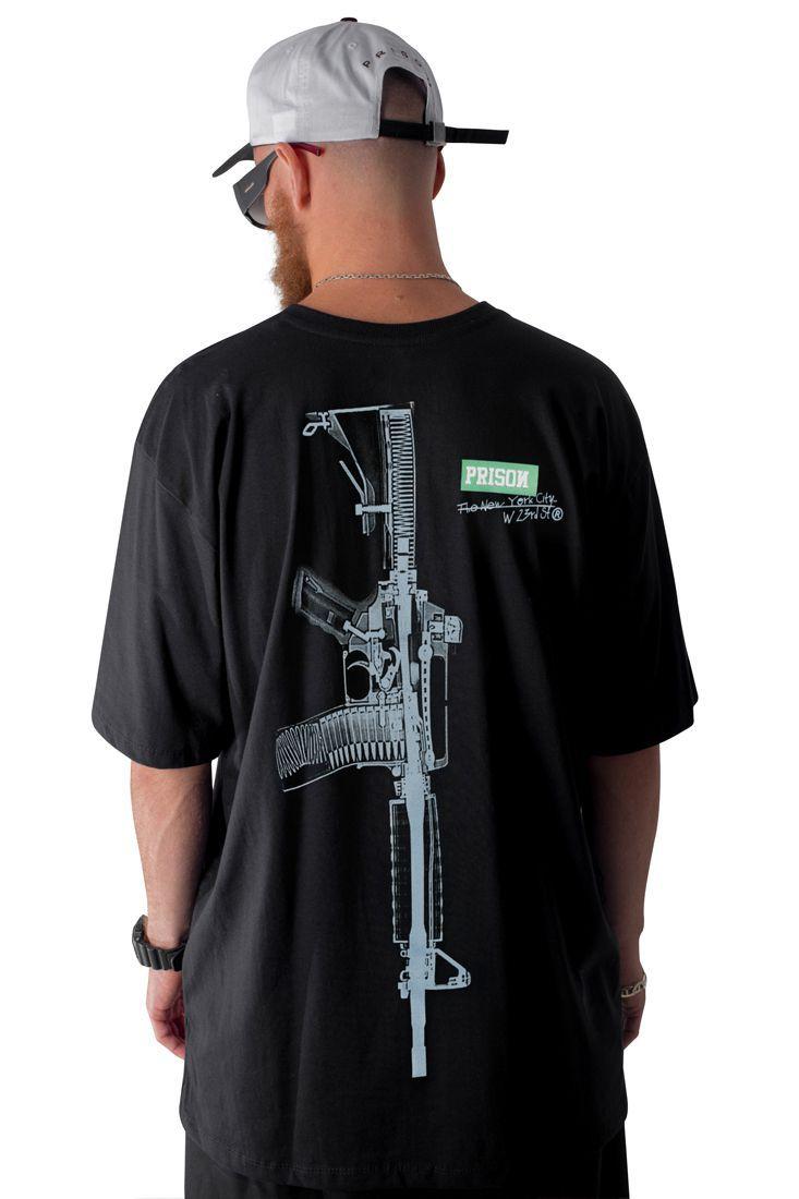 Camiseta Prison New York R15 Preta