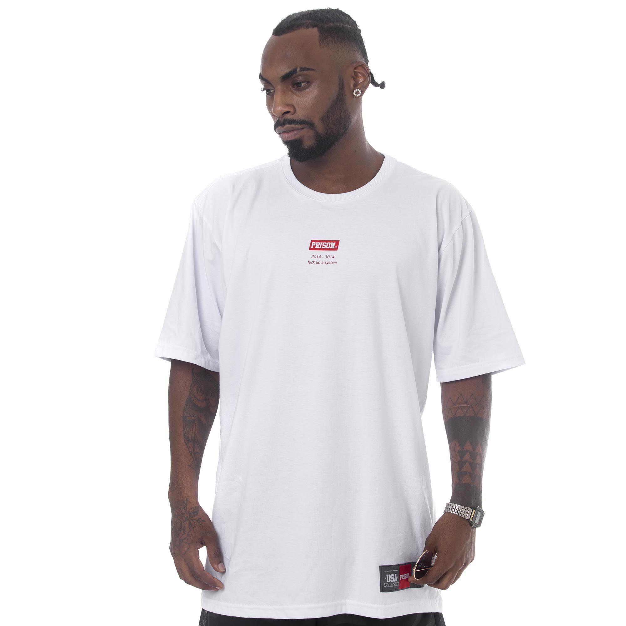 Camiseta Prison New York Box Branca