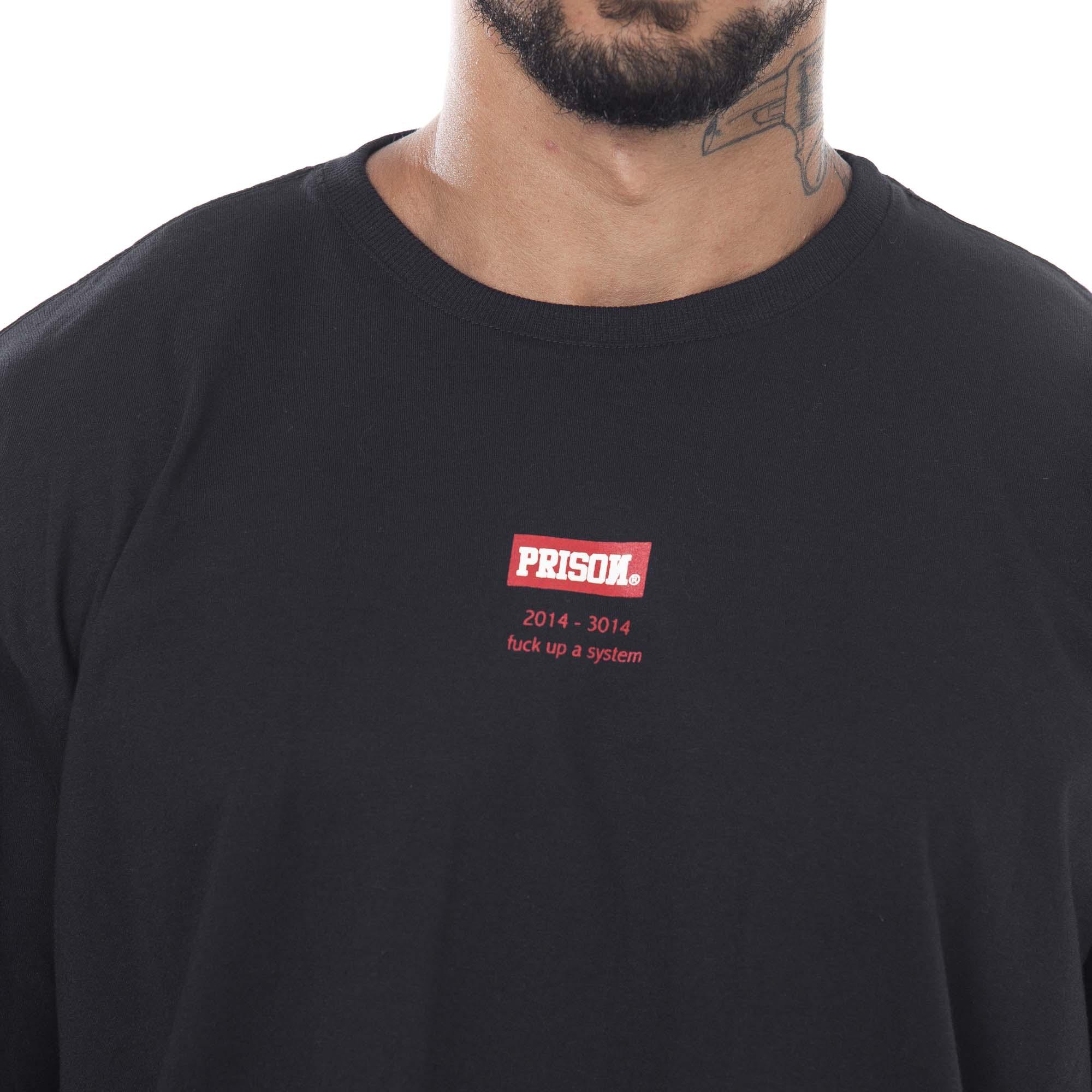 Camiseta Prison New York Box Preta