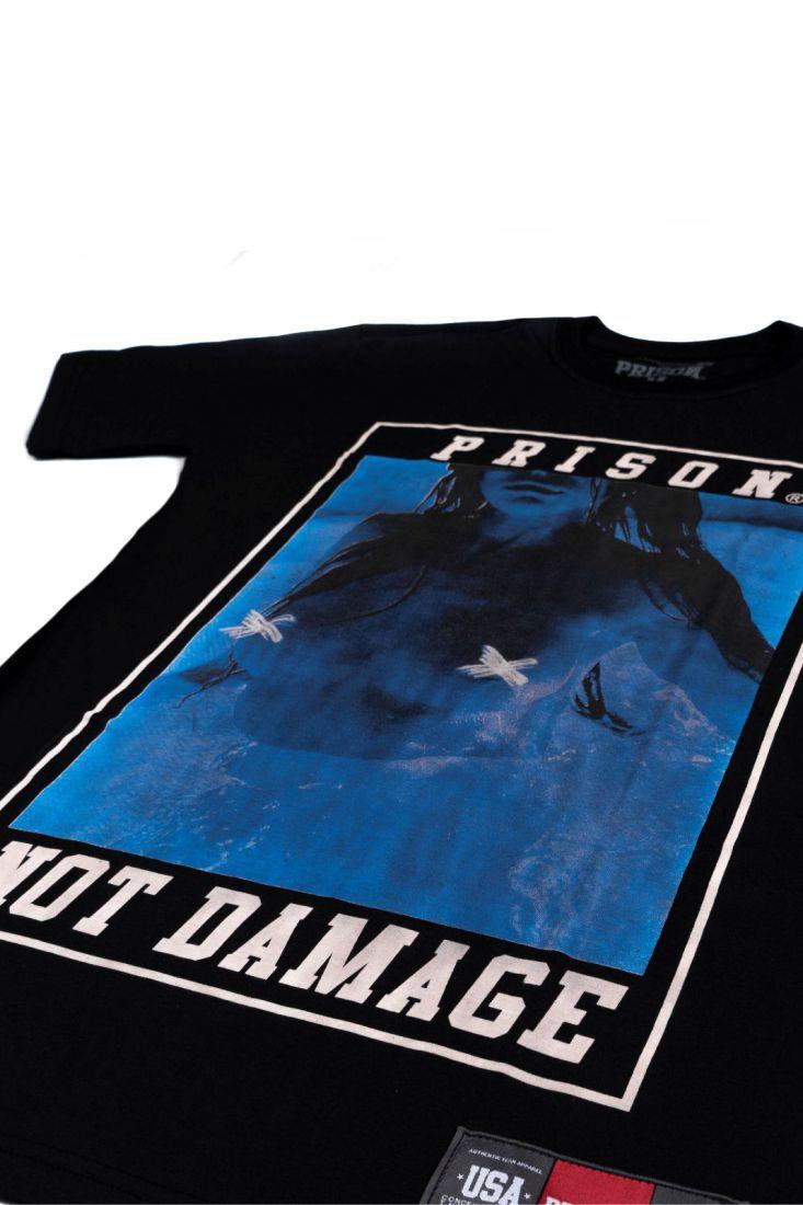 Camiseta Prison Not Damage Preta