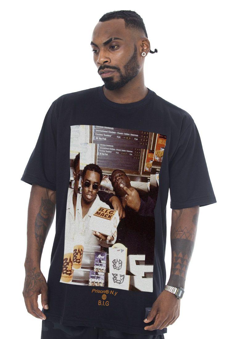 Camiseta Prison Notorious Big  Juicy