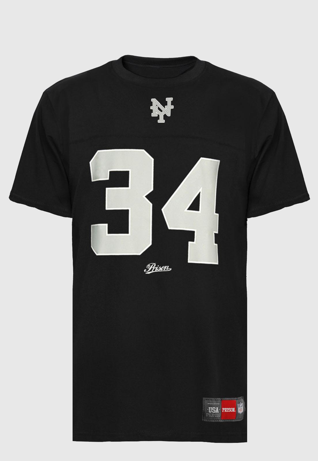 Camiseta Prison Nova York black 34