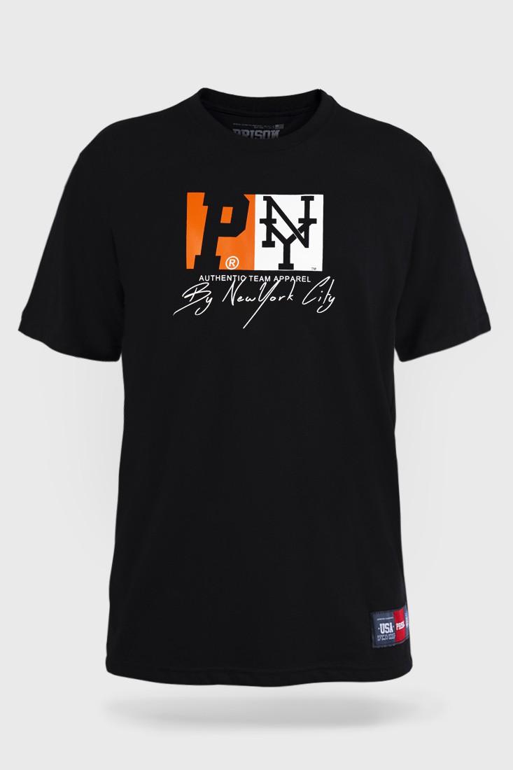 Camiseta Prison NYC Orange Preta