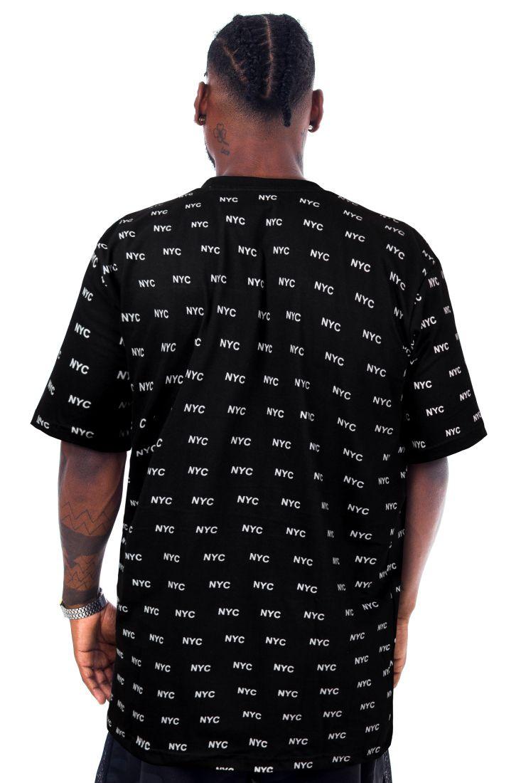 Camiseta Prison NYC Total Preta