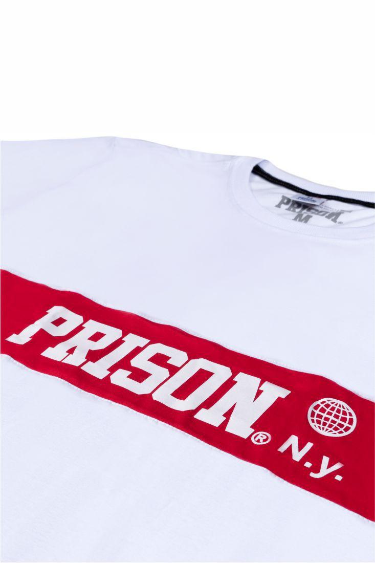 Camiseta Prison One Stripe Branca
