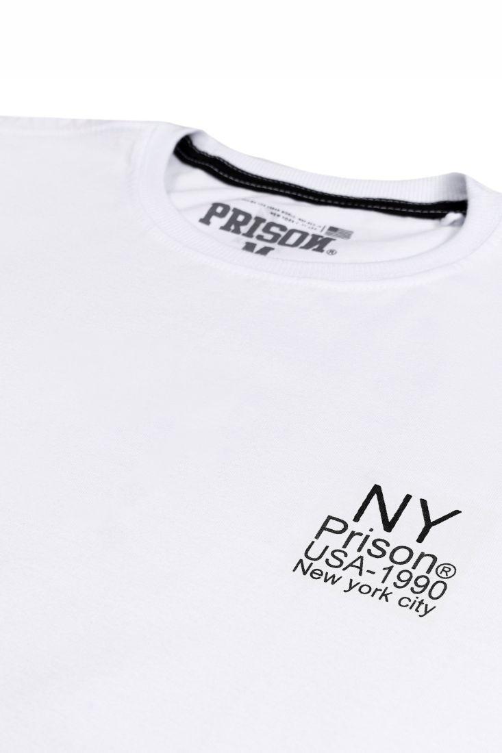 Camiseta Prison Original NY 1990 Branca