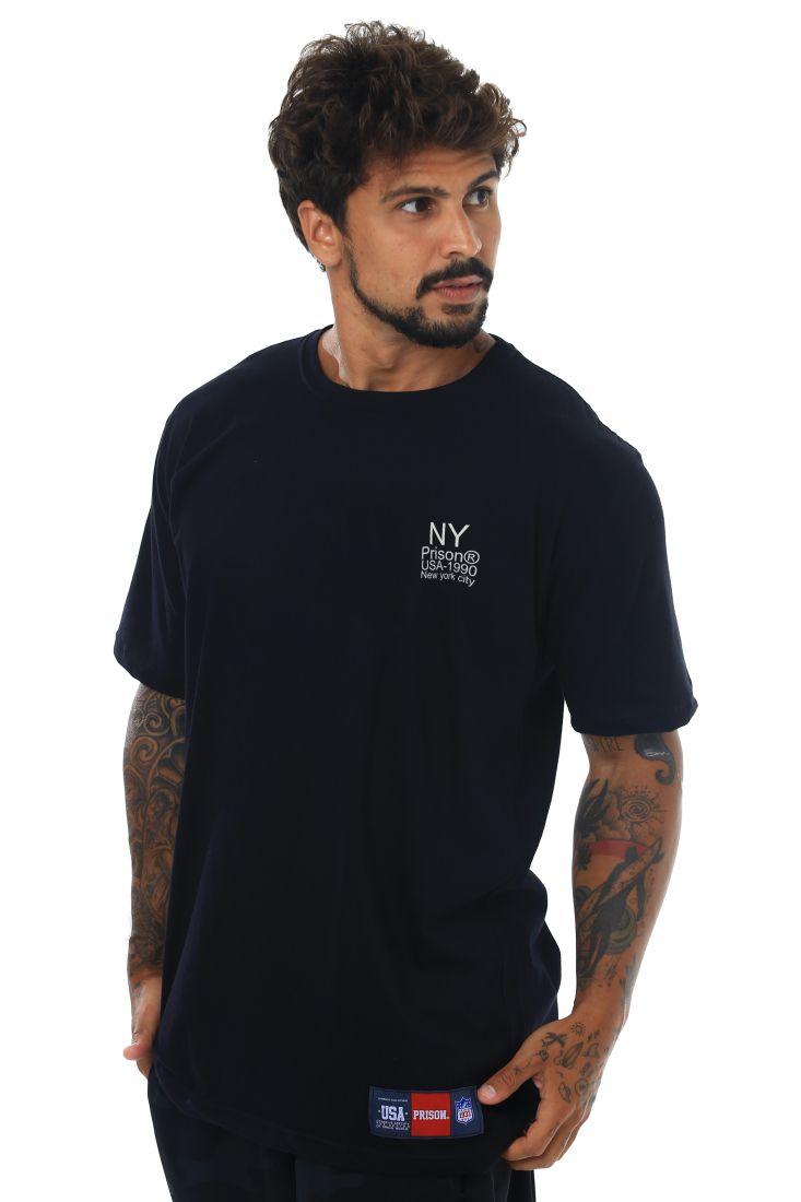 Camiseta Prison Original NY 1990 Preta