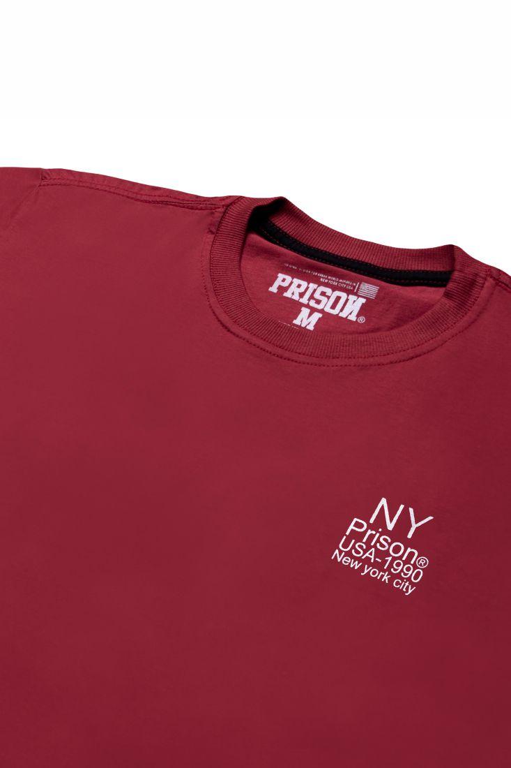 Camiseta Prison Original NY 1990 Vinho