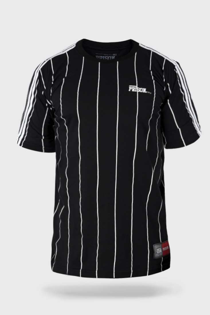 Camiseta Prison Original Stripes Preta