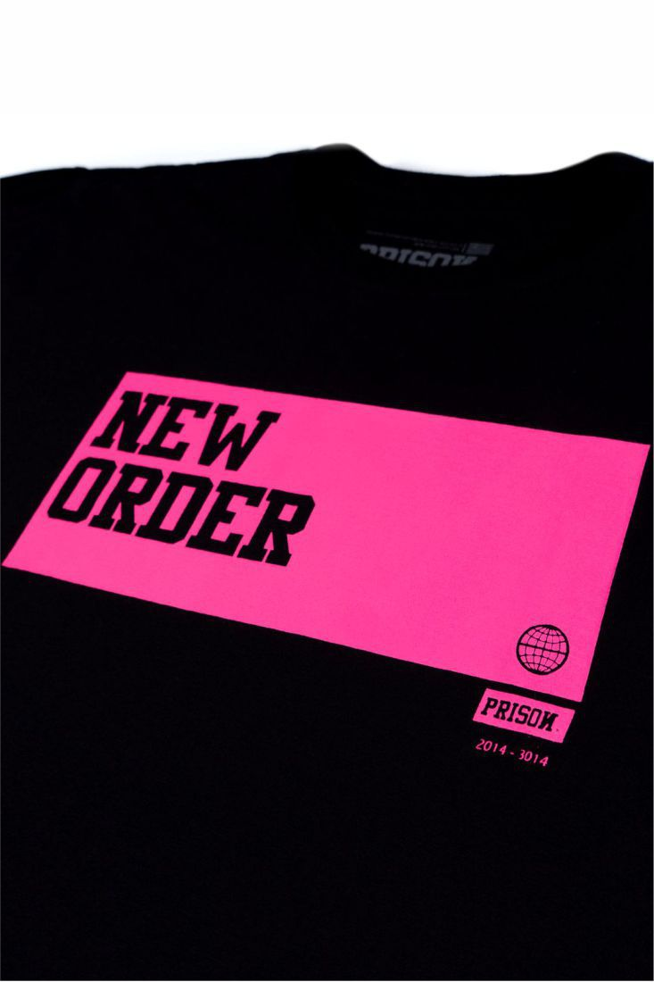 Camiseta Prison Pink New Order