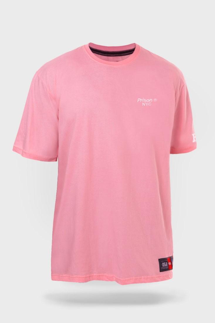 Camiseta Prison Pink NYC Park Rosa