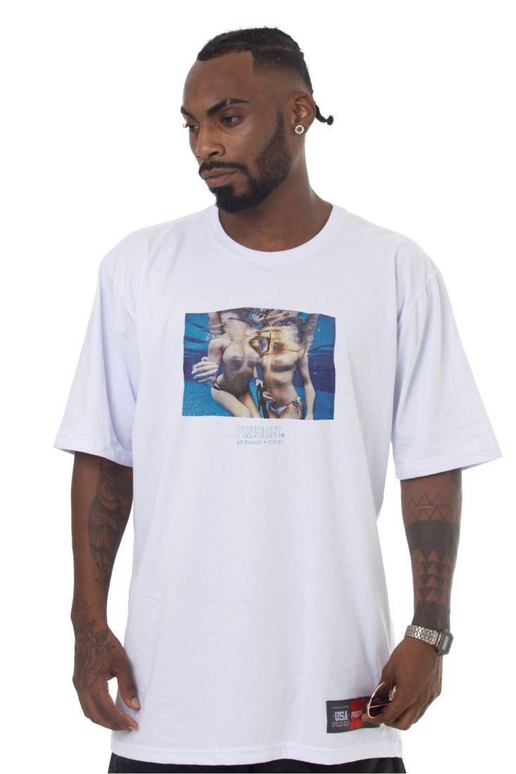 Camiseta Prison Pool Party Branca