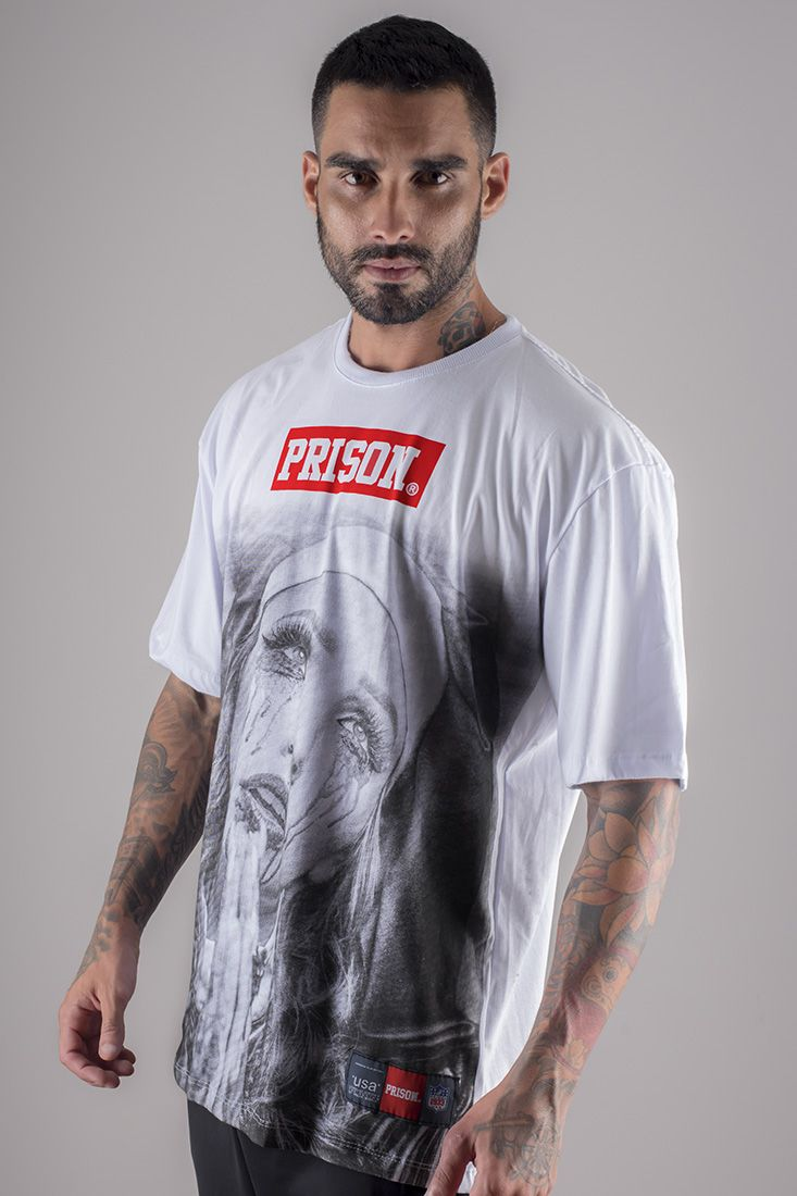 Camiseta Prison pray cry
