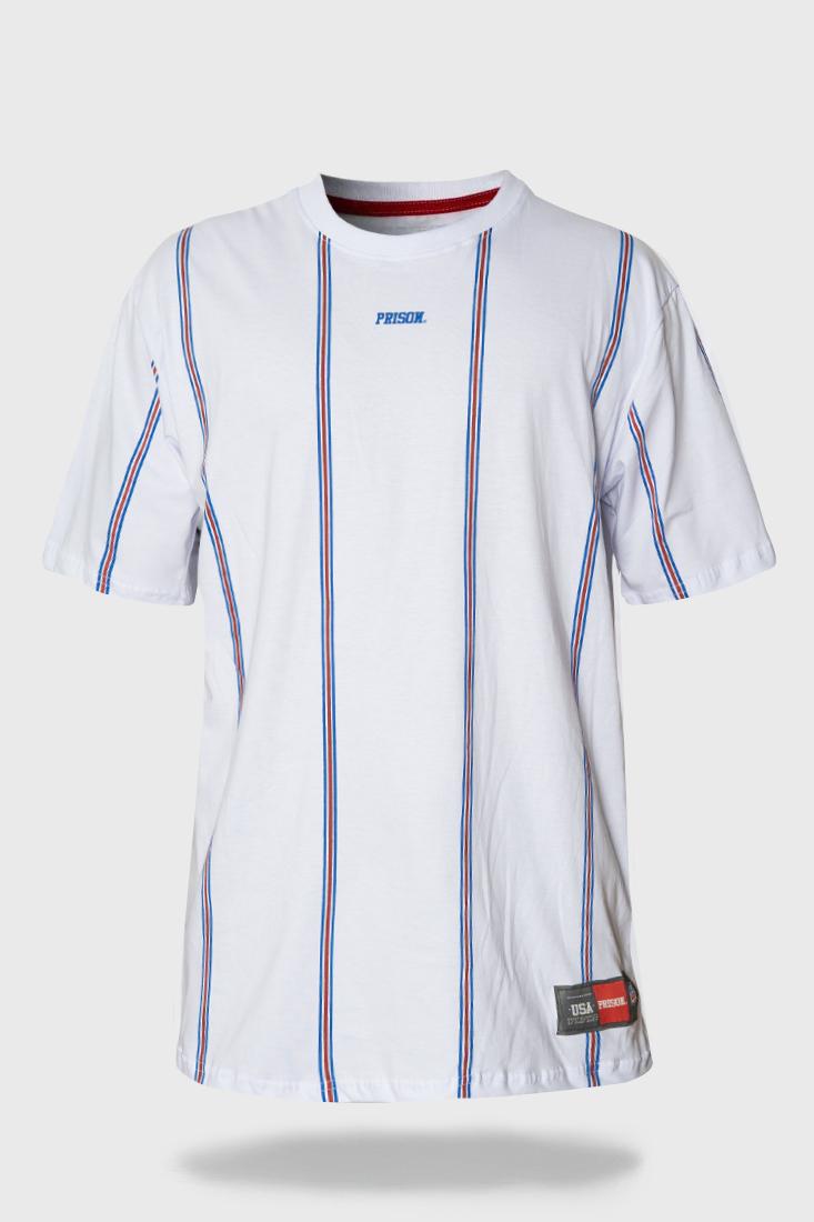 Camiseta Prison Primary Stripes